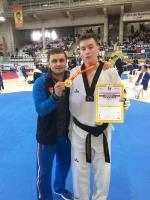 Рязанский тхэквондист из «Юпитера» Андрей Канаев выиграл Открытый Чемпионат Испании