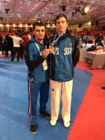 Рязанский тхэквондист из «Юпитера» Андрей Канаев завоевал «бронзу» Международного олимпийского президентского турнира в Турции