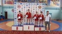 Юные рязанские самбисты «Юпитера» и «Родного края – Спорт» поделили Первенство Рязанской области