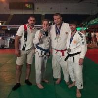 Три рязанца из «Юпитера» и «Евпатия Коловрата» завоевали «серебро» Чемпионата Европы по джиу-джитсу в командном турнире