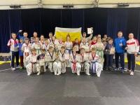 Юные рязанские тхэквондисты из «Юпитера» и областной федерации завоевали 21 награду в Суздале