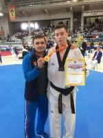 Рязанский тхэквондист из «Юпитера» Андрей Канаев поднялся на 14 мест в олимпийском рейтинге и на 5 - в мировом