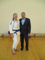 Мастер джиу-джитсу из «Юпитера» Маргарита Якушкина – лучшая рязанская спортсменка октября