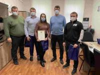 Лучших по итогам городского смотра-конкурса спортсменов и тренеров «Юпитера» – наградили