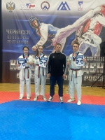 Тхэквондисты «Юпитера» завоевали 9 наград Всероссийского турнира в городе на Неве
