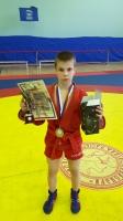 Юный самбист «Юпитера» Константин Комаров завоевал «серебро» Первенства ЦФО и отобрался на Первенство России