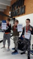 Юные тайбоксеры-«юпитерцы» завоевали три награды на Открытом турнире в столице