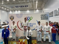 «Юпитерцы» заняли третье командное место на Спартакиаде молодежи России по джиу-джитсу