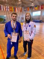 «Юпитерцы» Гамзат Абдулаев и Роман Зонин стали мастерами спорта России по универсальному бою